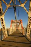 Lopende brug stock afbeelding
