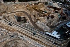 Lopende dambouw Stock Fotografie