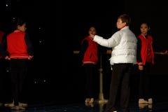 Lopende de Dansacademie die van raads jaarlijkse Peking van het de dansonderwijs van test opmerkelijke kinderen ` s de voltooiing royalty-vrije stock afbeeldingen