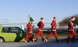 Lopende Kerstboom Stock Fotografie