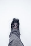 Lopende laarzen Stock Afbeelding