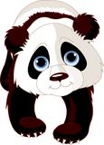 Lopende Panda stock illustratie