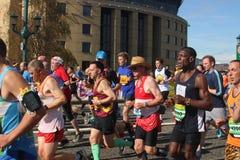 Lopende ras van de sport het gezonde oefening Stock Fotografie