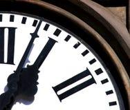 Lopende tijd Stock Foto