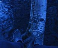 Lopende wateren Stock Foto