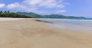 Lopes Mendes Beach in Ilha Grande Island, Brazil Stock Image