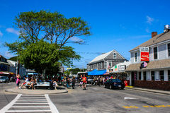 Lopes Square, Provincetown, Cape Cod, MA. Stock Photography