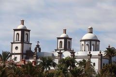 Lopesan Villa del康德Resort & Thalasso的招待会在盛大卡纳里亚,西班牙 免版税库存照片