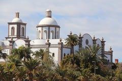 Lopesan Villa del康德Resort & Thalasso的招待会在盛大卡纳里亚,西班牙 库存图片