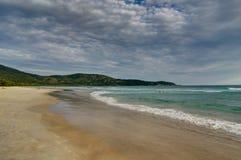 LopesMendes strand i Ilha stora söder av Rio de Janeiro Brazil Royaltyfria Bilder