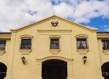 Lopez wytwórnia win w Mendoza prowinci, Argentyna Zdjęcia Stock