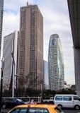 Lopp över Japan Arkitektur av Japan Arkivfoto
