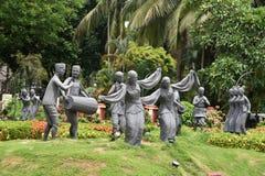 Lopp Assam Arkivfoto