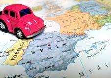 Lopp Europa - Spanien och Portugal arkivfoto