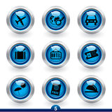 lopp för 5 symbolsserie stock illustrationer