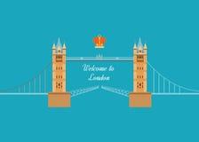 Lopp för design för London Förenade kungariket lägenhetsymboler Arkivfoto