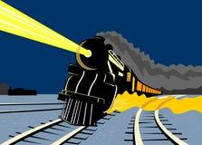 lopp för nattångadrev vektor illustrationer