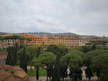 Lopp för Roma Italy forntida härligt forntida härligt landskapstad Fotografering för Bildbyråer