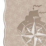lopp för rose för affärsföretagbakgrundskompass Arkivfoton