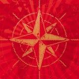 lopp för rose för kompassillustrationöversikt Royaltyfria Foton