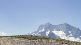 Lopp i bergen Royaltyfria Bilder