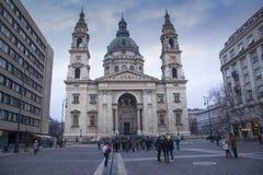 Lopp i Budapest fotografering för bildbyråer