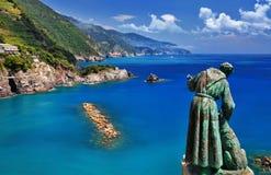 Lopp i Italien - Monterosso almare Royaltyfria Foton
