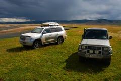 Lopp i Mongoliet Royaltyfria Foton