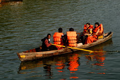 Lopp Indien Fotografering för Bildbyråer