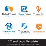 Lopp Logo Template Design Vector Royaltyfri Bild