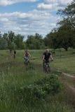 Lopp med cykeln Royaltyfria Bilder