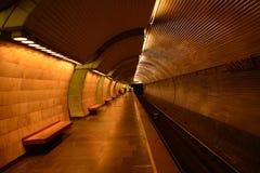 Lopp med metroen Royaltyfri Fotografi