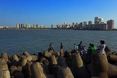 Lopp Mumbai Fotografering för Bildbyråer