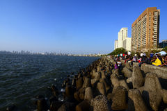 Lopp Mumbai Arkivfoto