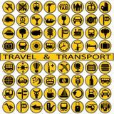 Lopp och transport Arkivbild