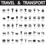 Lopp och transport Arkivfoto