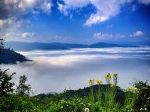 Lopp på bosnisk mountaine Royaltyfria Bilder