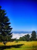 Lopp på bosnisk mountaine Royaltyfria Foton