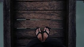 Lopp på fötter Royaltyfria Bilder