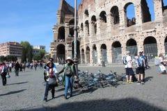 Lopp på Rome Italien Arkivbild