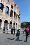 Lopp på Rome Italien Royaltyfri Fotografi