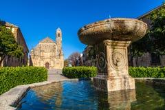 Lopp runt om Andalusia, söder av Spanien Arkivfoto