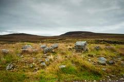 Lopp runt om Skottland Hightlands Arkivfoton