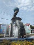 Lopp till Bojonegoro East Java, Indonesien arkivfoton