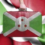 Lopp till Burundi royaltyfri foto