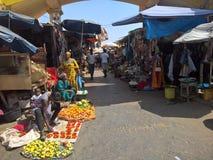 Lopp till Gambia arkivbilder