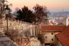 Lopp till Prague, Tjeckien Sight Arkivbilder