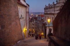 Lopp till Prague, Tjeckien Sight Royaltyfri Fotografi
