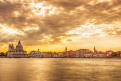 Lopp till Venedig Arkivbild