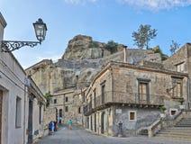 Lopp tillbaka i Tid, Sicilien Arkivbild
